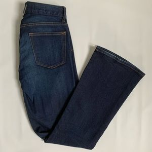 GAP 1969 mid-rise perfect boot flare jeans